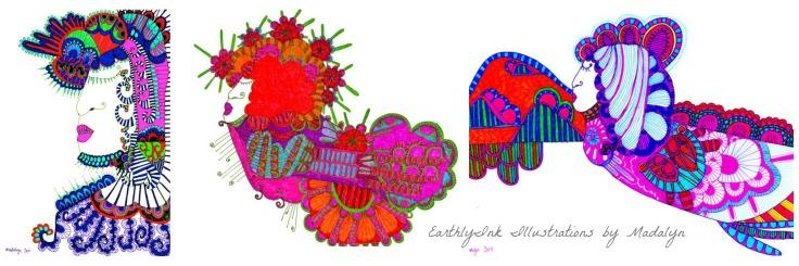 Collage Sunshine Alley Artworks