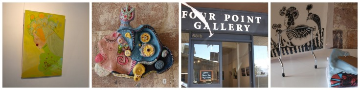 Four Point Gallery collage