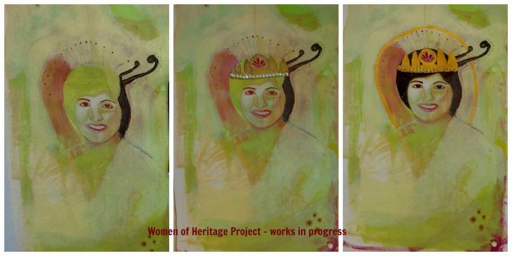 Women of Heritage - Collage - Mum