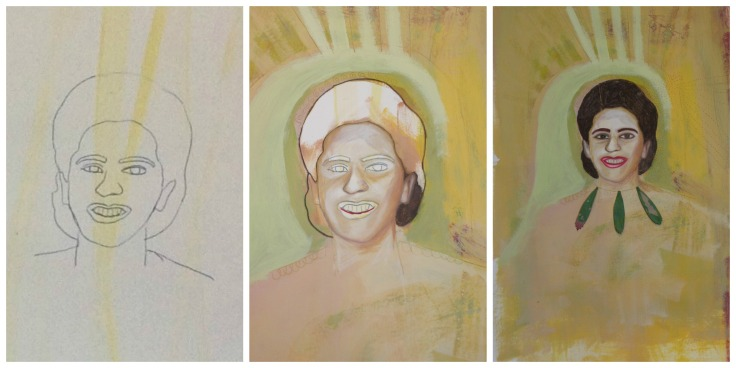 Women of Heritage - collage - yaya